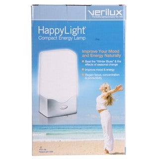 Verilux Happy Light 2500 Compact Energy Lamp