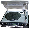 Pyle USB Turntable with Direct-to-Digital (Refurbished)