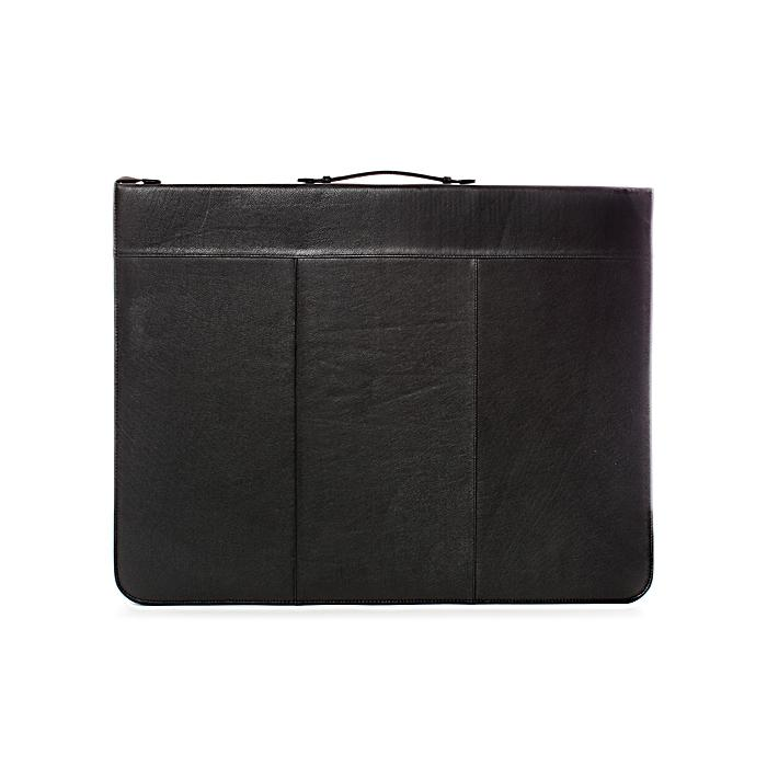 Global Art 18-inch x 24-inch Classic Leather Presentation Case