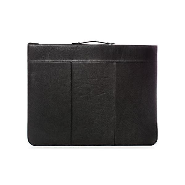 Global Art 18-inch x 24-inch Classic Leather Presentation Case
