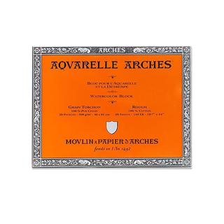 Arches 18-inch x 24-inch Rough Watercolor Block