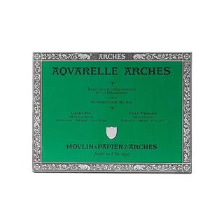 Arches 9-Inch x 12-Inch Pre-Stretched Cold Press Watercolor Block