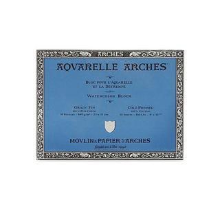 Arches 9-inch x 12-inch Cold Press Watercolor Block
