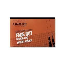 Clearprint 11 x 17-inch Fade-out Design and Sketch 8 x 8 Grid Vellum