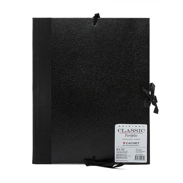 Cachet 9-inch x 12-inch Classic Leatherette Student Portfolio