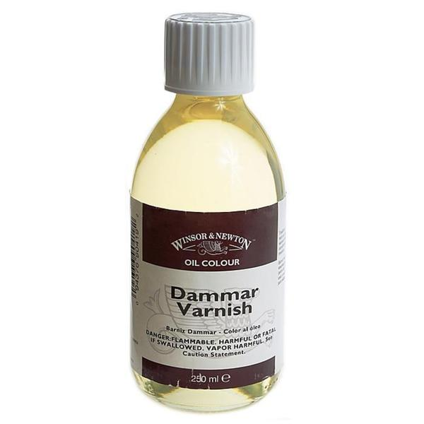 Winsor & Newton 250-milliliter Dammar Varnish Bottle