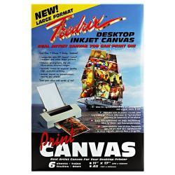 Fredrix 11-inch x 17-inch Desktop Inkjet Canvas