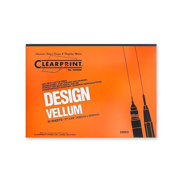 Clearprint 17-inch x 22-inch Design Vellum 1000HP (Pack of 50)
