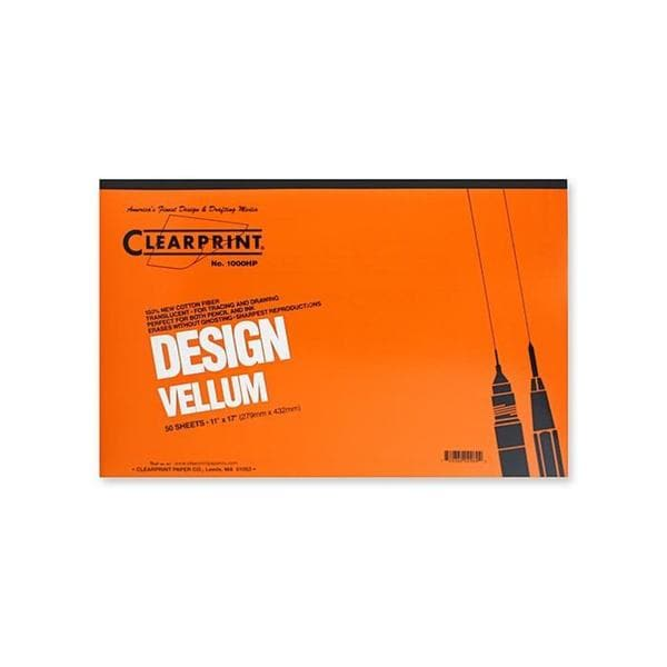 Clearprint 11-inch x 17-inch Design Vellum 1000HP (Pack of 50)
