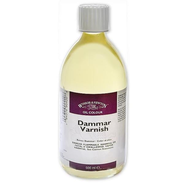 Winsor & Newton 500-milliliter Dammar Varnish Bottle