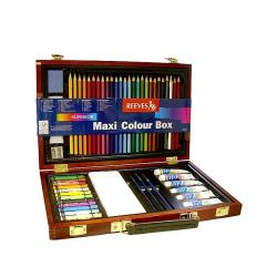 Reeves Maxi Colour Wood Box Set