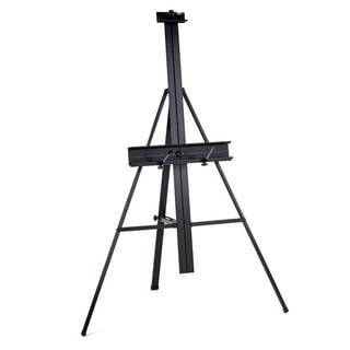 Studio Designs Black Aluminum Floor Easel