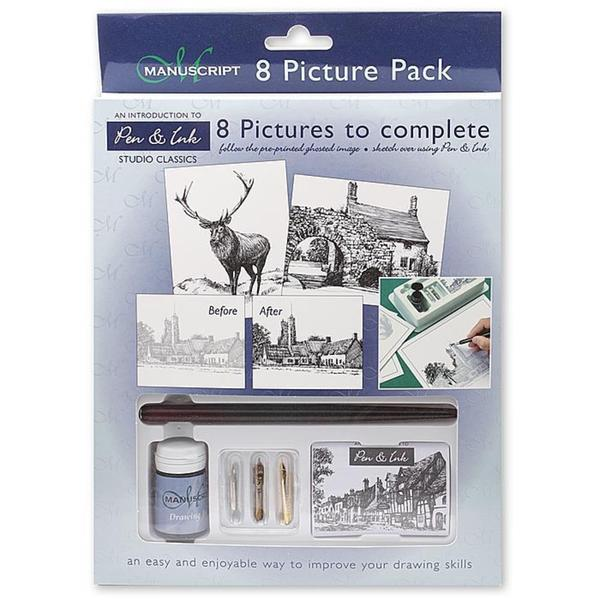 Manuscript Assorted Fine Art Studio Classic Picture-to-complete Pack