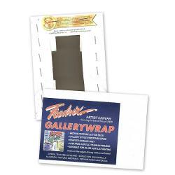 Fredrix 30-inch x 30-inch Gallerywrap Pre-stretched Canvas