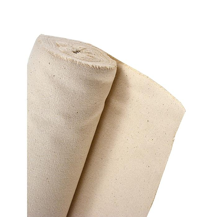 Fredrix 120-inch x 6-yard Unprimed Heavy Weight Cotton Canvas