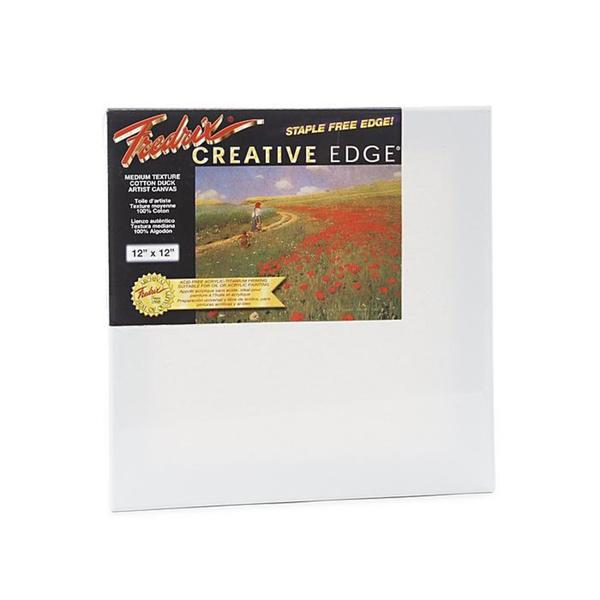 Fredrix 12-inch x 12-inch Creative Edge Pre-stretched Canvas