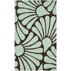 Safavieh Handmade Avant-garde Tranquil Brown Rug (8' x 10')