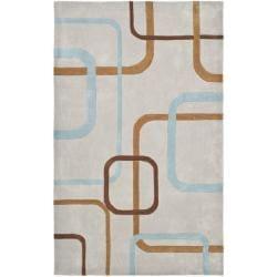 Safavieh Handmade Avant-garde Deco Grey Rug (8' x 10')