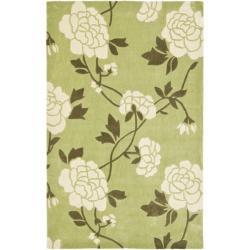 Safavieh Handmade Avant-garde Harmony Green Rug (8' x 10')