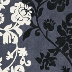 Safavieh Handmade Avant-garde Shadows Dark Grey Rug (7' Square)