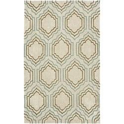 Safavieh Handmade Avant-garde Morocco BeigeRug (4' x 6')