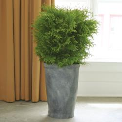 PoliVaz Slate Large Planter (Indonesia)