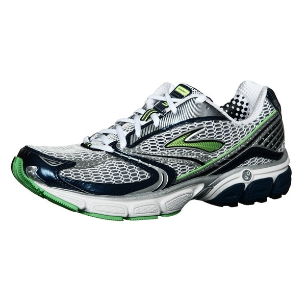 Brooks Men's 'Ghost 3' Neon Green/ Multi Running Shoes