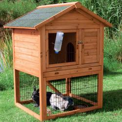 Rabbit Hutch with Attic (M)