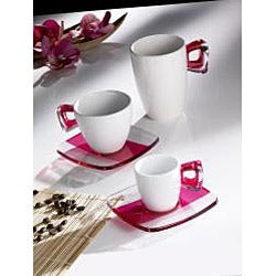 Omada 10-oz Square Crystal Mugs (Set of 4)
