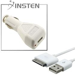 USB Data Cable/ Car Charger Adapter for Apple iPhone