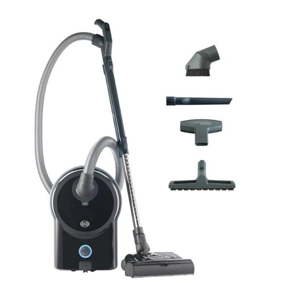 Sebo 90640AM Airbelt D4 Premium Black w/ Powerhead Vacuum