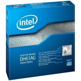 Intel DH61AG Desktop Motherboard - Intel H61 Express Chipset - Socket