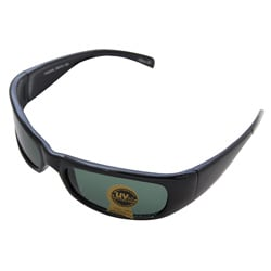 Men's Glass Black Sport Sunglasses
