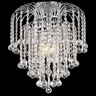 Somette Crystal 4-light Chrome Chandelier