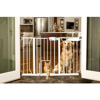 Carlson Super Wide Walk Through Pet Gate
