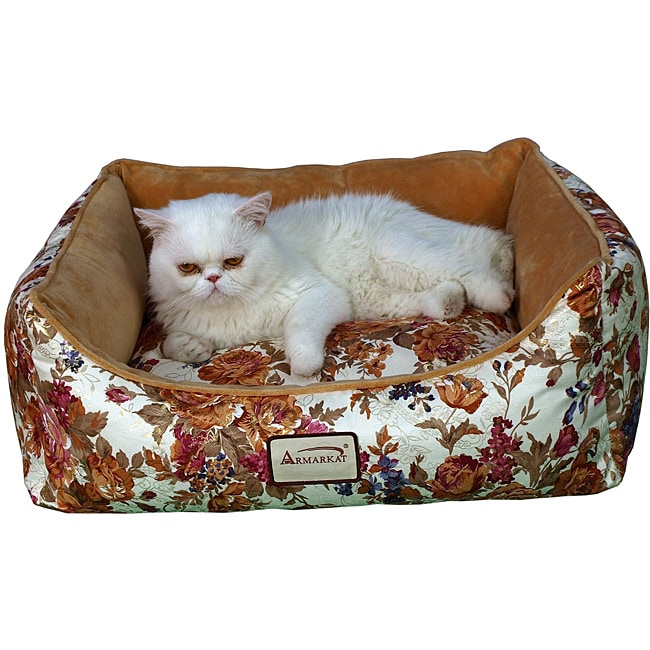 Armarkat Rectangle Rose Pet Bed