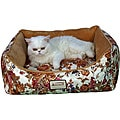 Armarkat Rectangle Rose Pet Bed