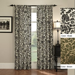 Fiore 84-inch Rod Pocket Curtain Panel