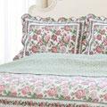 Rose Bush 3-piece Quilt Set