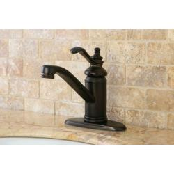 Templeton Centerset Oil Rubbed Bronze Bathroom Faucet