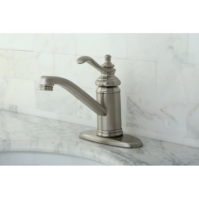Templeton Centerset Satin Nickel Bathroom Faucet - 13814720 ...