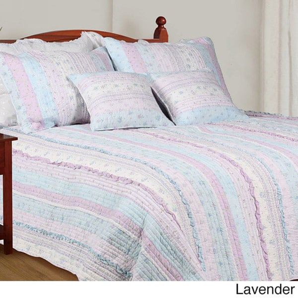 Romantic Chic Lace Quilt Set