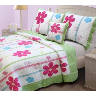 Spring Fling Flower Quilt Set