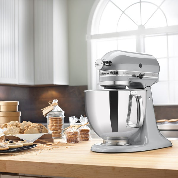 Refurb KitchenAid 5-Qt Artisan Standmixer Metallic Chrome