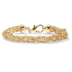 Toscana Collection Goldtone Byzantine Chain Bracelet