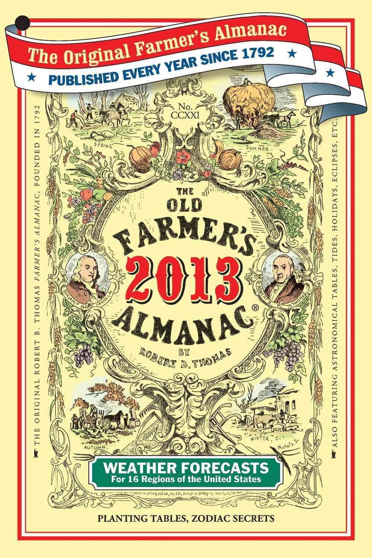 The Old Farmer's Almanac 2013 (Paperback)