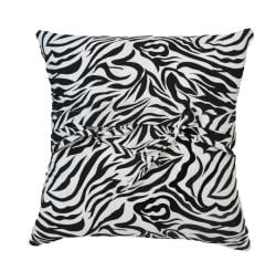 Zebra Patchwork Decorative Pillow