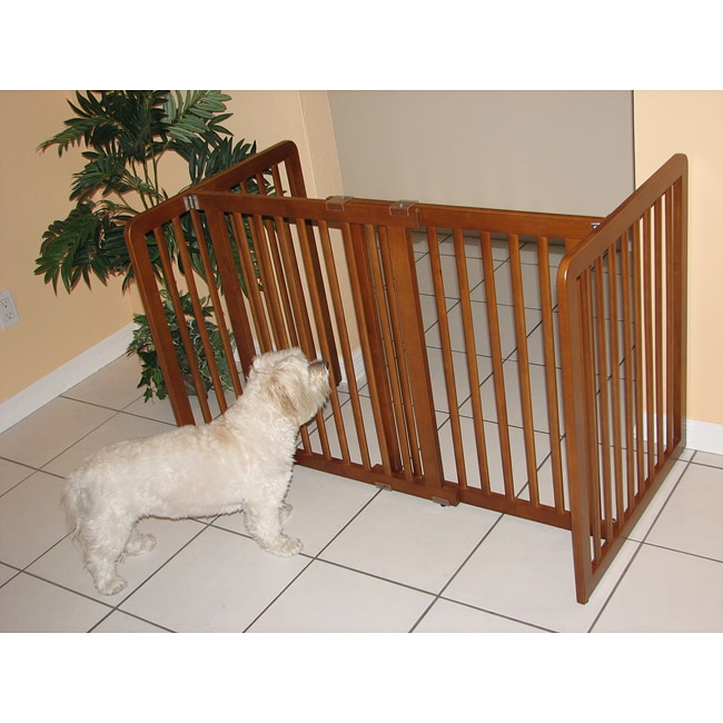 Crown Pet 27 47 5 Inch Small Span Chestnut Brown All Wood