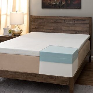 Comfort Dreams Pillow Top 14-inch Queen-size Memory Foam Mattress