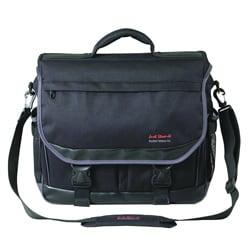 Martin Just Stow-It Black Ultimate Messenger Bag